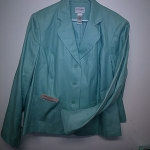 22w plus size light n casual blazer nwt